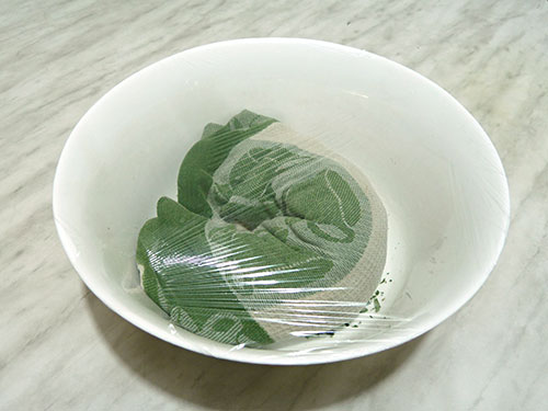 Ферментация Иаан-чая.