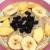 Овсянка с корицей и фруктами