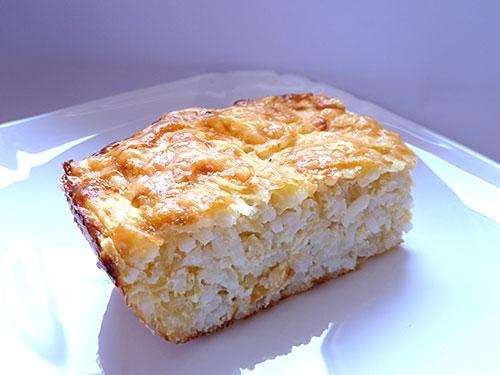 Запеканка из кабачка с рисом