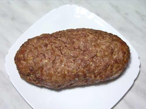 Мясной рулет Meatloaf;