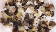 Как сделать вкусную начинку из замороженных грибов Suffed mushrooms