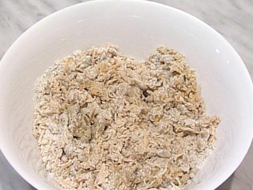 Постные печенья с тыквой Тесто