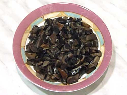 Размороженные грибы
