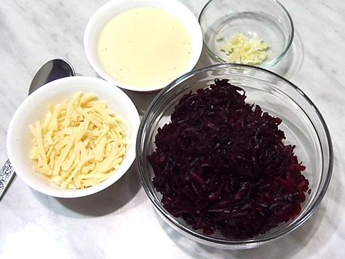 Свекольный салат Ингредиенты Beet salad;