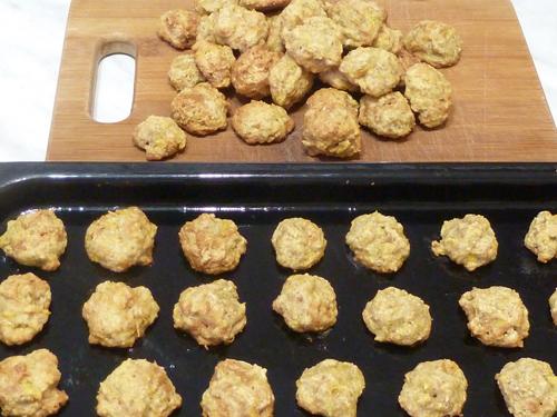 Постные печенья с тыквой