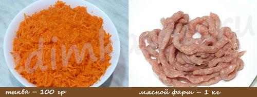 Мясные тефтели Meatballs Ингредиенты
