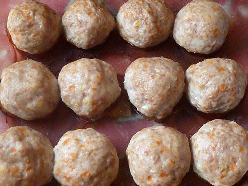 Мясные тефтели Meatballs