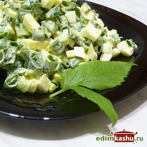 zeleniy-luk salat
