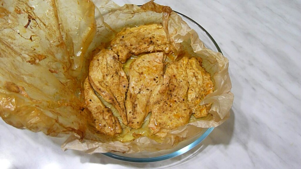 как запечь филе курицы