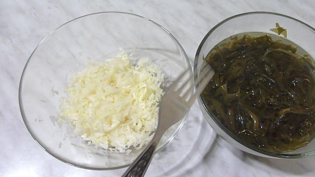 салаты из морской капусты