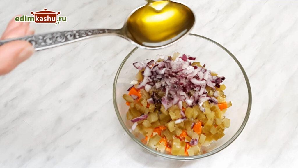 Самый простой Картофельный салат